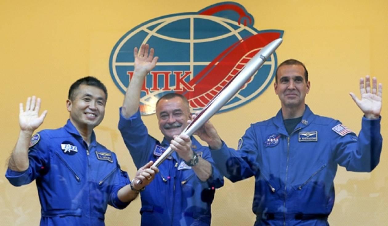Η Ολυμπιακή Φλόγα έφτασε στο Διάστημα
