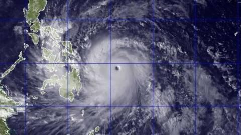 Ο σούπερ τυφώνας Χαϊγιάν έφτασε στις Φιλιππίνες