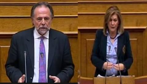 Κοινή γραμμή επίθεσης κατά του ΣΥΡΙΖΑ από τους εισηγητές ΝΔ-ΠΑΣΟΚ
