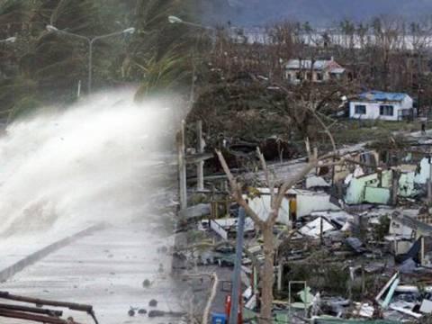 Τυφώνας σαρώνει τις Φιλιππίνες: Εκατοντάδες οι νεκροί