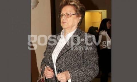 Η μητέρα γνωστής, Ελληνίδας παρουσιάστριας