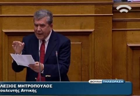 Μητρόπουλος: Ψηφίστε τους, παρέδωσαν την εθνική κυριαρχία! (βίντεο)