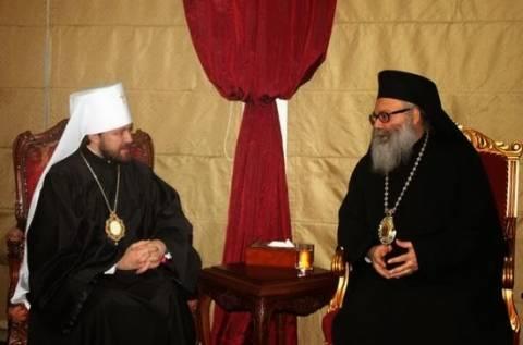 Εκπρόσωπος της Ρωσικής Εκκλησίας στο Πατριαρχείο Αντιοχείας