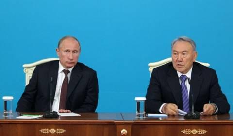 Ο Πούτιν στο Φόρουμ συνεργασίας Ρωσίας-Καζακστάν