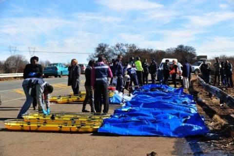 Τραγωδία στη Νότια Αφρική - 26 νεκροί σε τροχαίο δυστύχημα