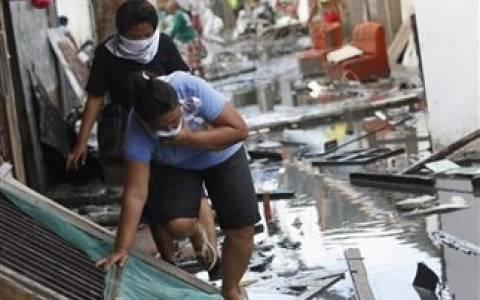 Στους 1.833 οι νεκροί στις Φιλιππίνες