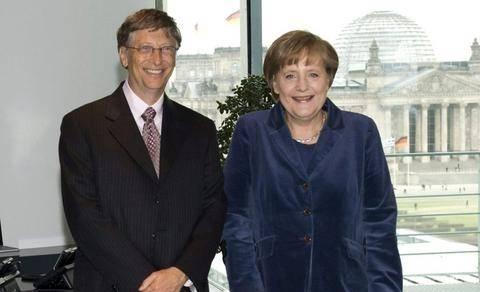 Τον Μπιλ Γκέιτς συναντά η Μέρκελ