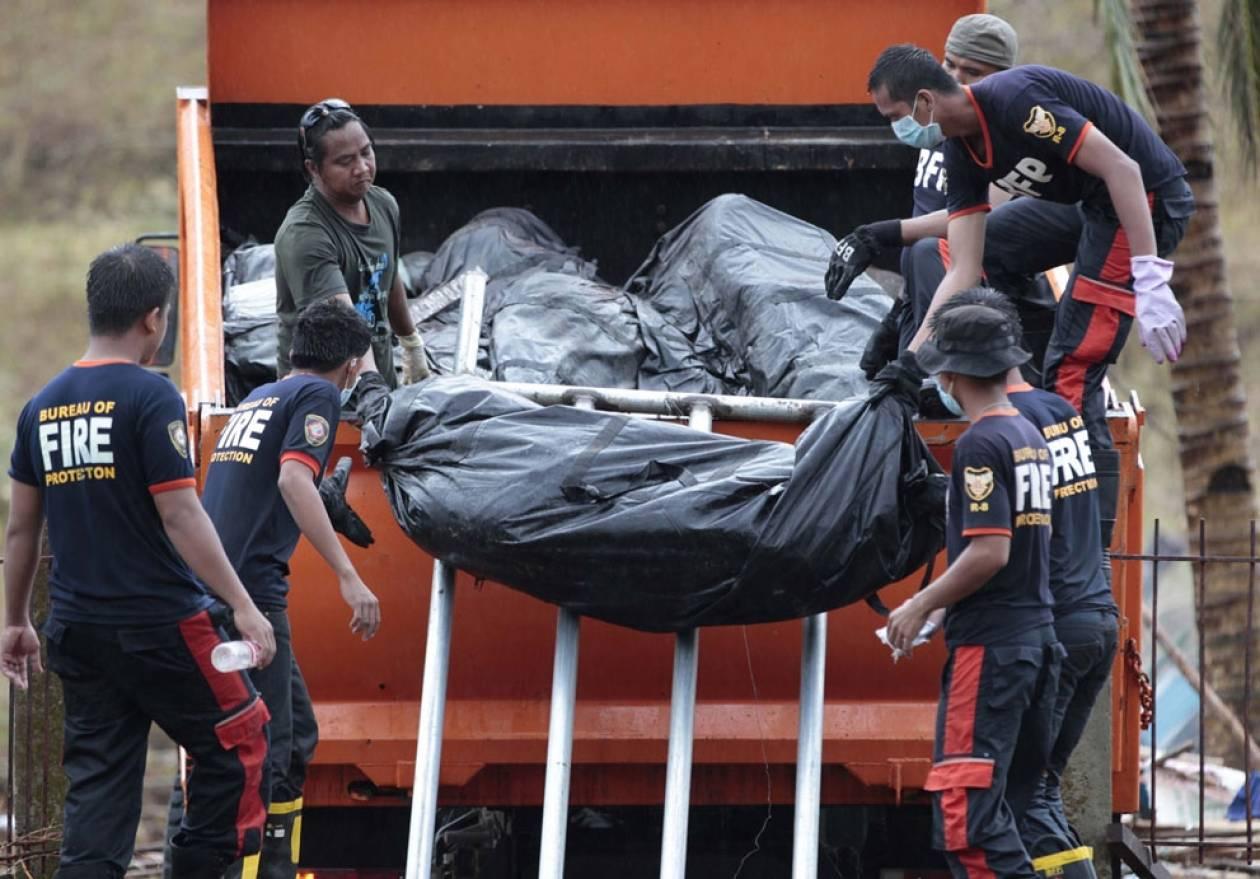 Στους 4.000 οι νεκροί στις Φιλιππίνες σύμφωνα τοπικές δημοτικές αρχές