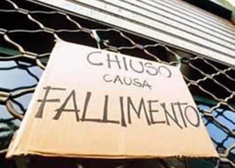 Ιταλία: Ρεκόρ στις πτωχεύσεις επιχειρήσεων