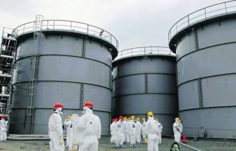 Νέα διαρροή ραδιενεργού ύδατος από δεξαμενή στη Φουκουσίμα