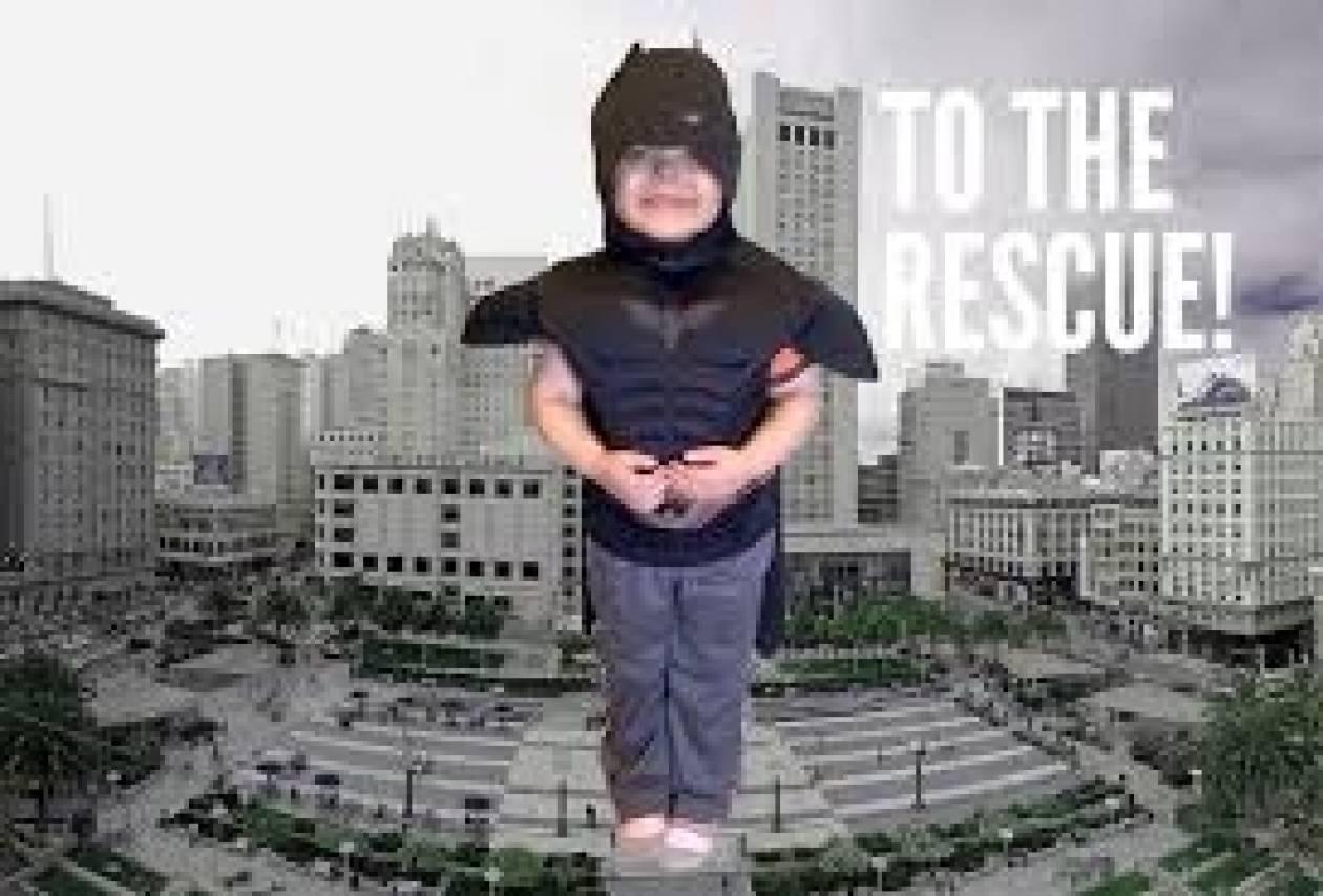 Ένας 5χρονος «Μπάτμαν» έσωσε το Σαν Φρανσίσκο από τους κακούς!