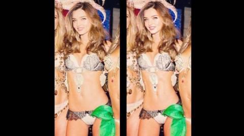 Άγριο κράξιμο στην Miranda Kerr για το photoshop στη φωτογραφία