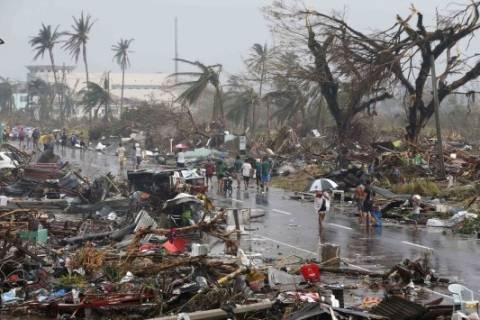 Φιλιππίνες: Ο στρατός θα συνδράμει τους πληγέντες του τυφώνα