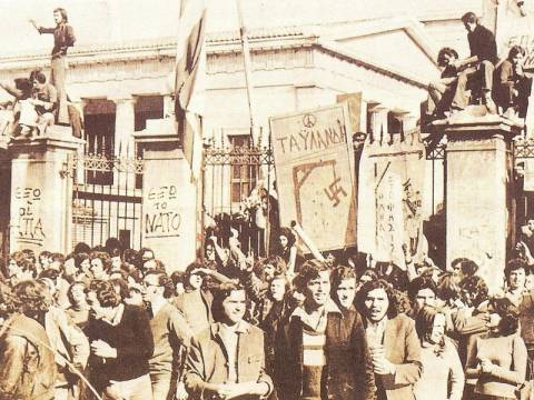40 χρόνια από την φοιτητική εξέγερση στο Πολυτεχνείο (Videos - Photos)