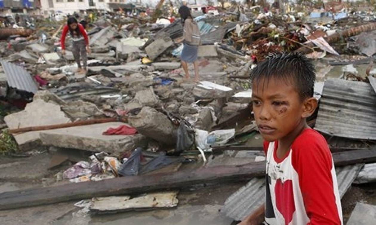 Φιλιππίνες: Βοήθεια από την Αμερική για τους πληγέντες του τυφώνα