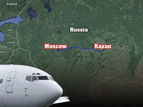Αεροπορική τραγωγία με δεκάδες νεκρούς στη Ρωσία (vid)