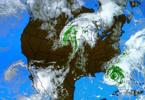 ΗΠΑ: Βαρομετρικό χαμηλό απειλεί 53 εκατομμύρια κατοίκους
