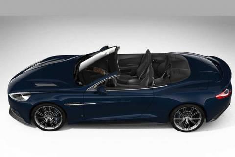 Δείτε την Aston Martin Vanguish Volante