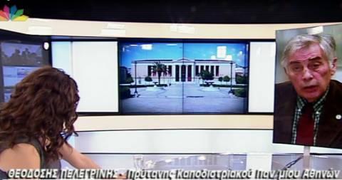 Πελεγρίνης: Το υπουργείο οδηγεί το Πανεπιστήμιο στην καταστροφή (vid)
