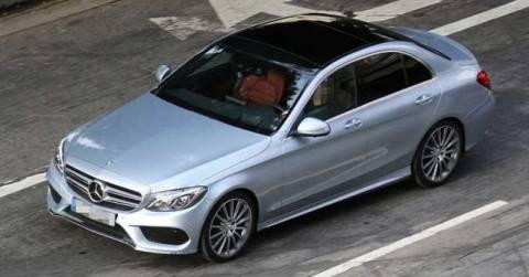Νέα Mercedes C-Class χωρίς καμουφλάζ