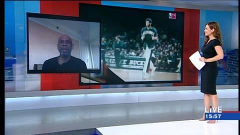 O θρύλος του μπάσκετ Καρίμ Αμπντούλ Τζαμπάρ στο LIVE