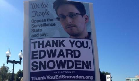 Διαφημιστική εκστρατεία υπέρ Σνόουντεν στις ΗΠΑ