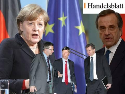 Handelsblatt: «Ένα βήμα μπρος και δύο βήματα πίσω»