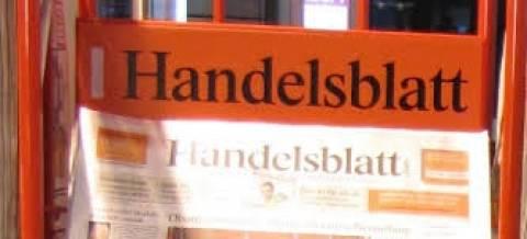 Handelsblatt: «Oι θυσίες των Ελλήνων ανταμείβονται»