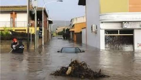 Σαρδηνία: 1.3 εκατ. στους πληγέντες από τον φονικό τυφώνα