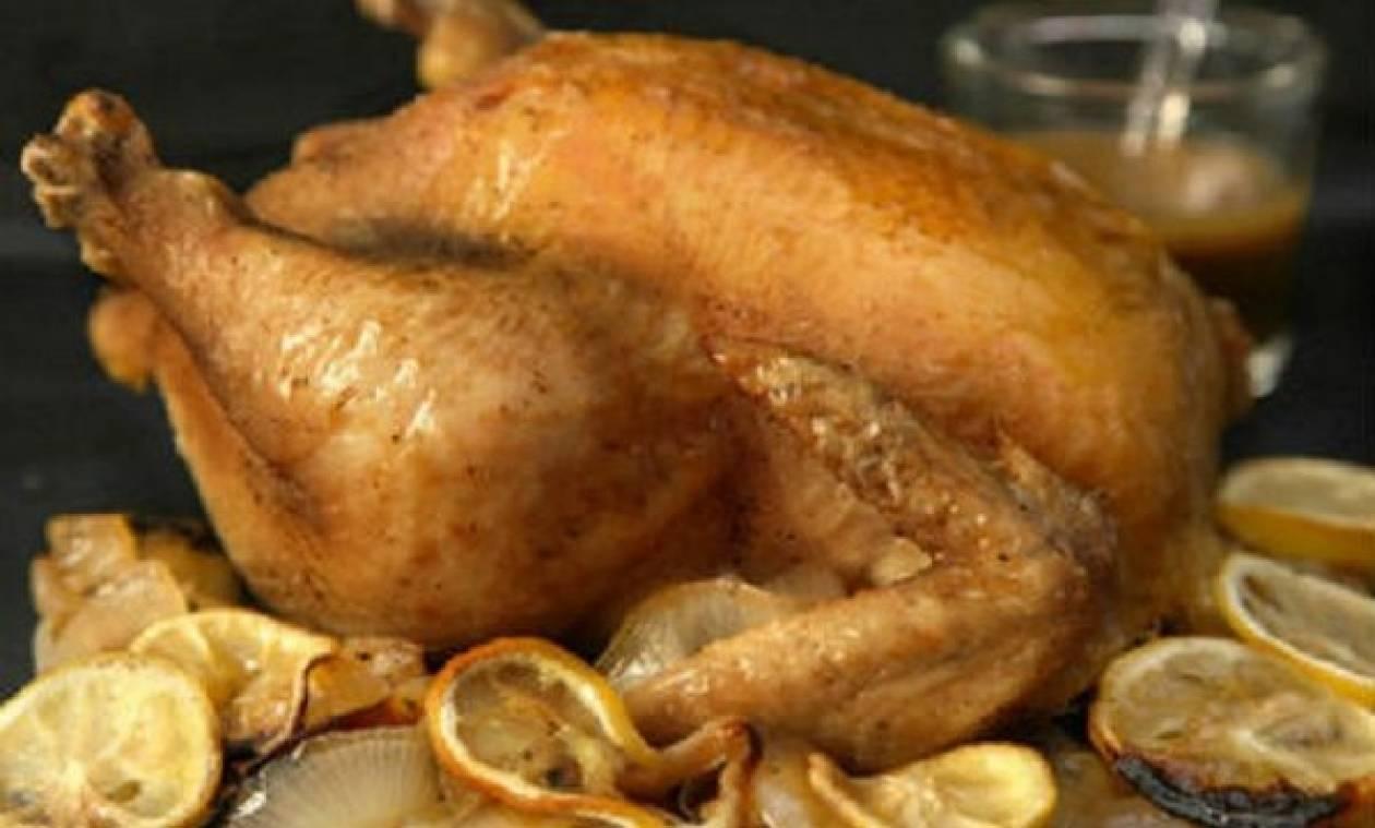 Συνταγή για πεντανόστιμο κοτόπουλο λεμονάτο φούρνου σε λίγα λεπτά!