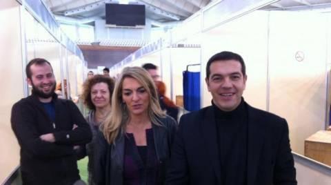 Ψήφισε στις εκλογές του ΤΕΕ ο Αλ. Τσίπρας