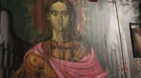 Ρόδος: Τα δάκρυα της εικόνας του Ταξιάρχη προειδοποίηση της θεομηνίας;