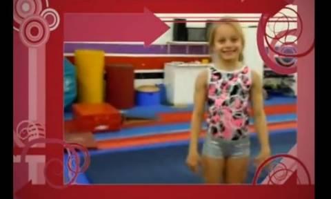 Το 8χρονο ταλέντο της ρυθμικής γυμναστικής