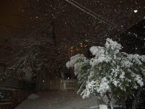 Θα χιονίσει ακόμα και σε περιοχές με υψόμετρο 500-700 μέτρα