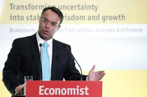 Σταϊκούρας:Ελληνική και κυπριακή Οικονομία μπορούν να ανακάμψουν