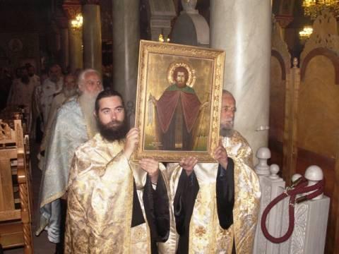 Η Σπάρτη γιορτάζει τον Πολιούχο της Όσιο Νίκωνα