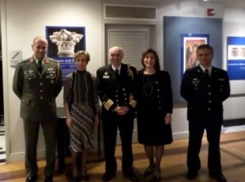 Η ημέρα των ελληνικών Ενόπλων Δυνάμεων γιορτάστηκε στην Ουάσιγκτον