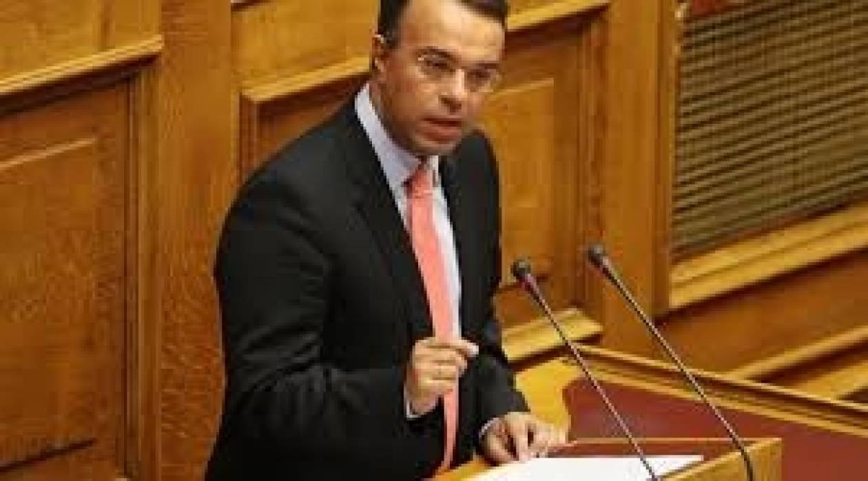Χρ.Σταϊκούρας: Υπάρχει τάση αποκλιμάκωσης της ύφεσης