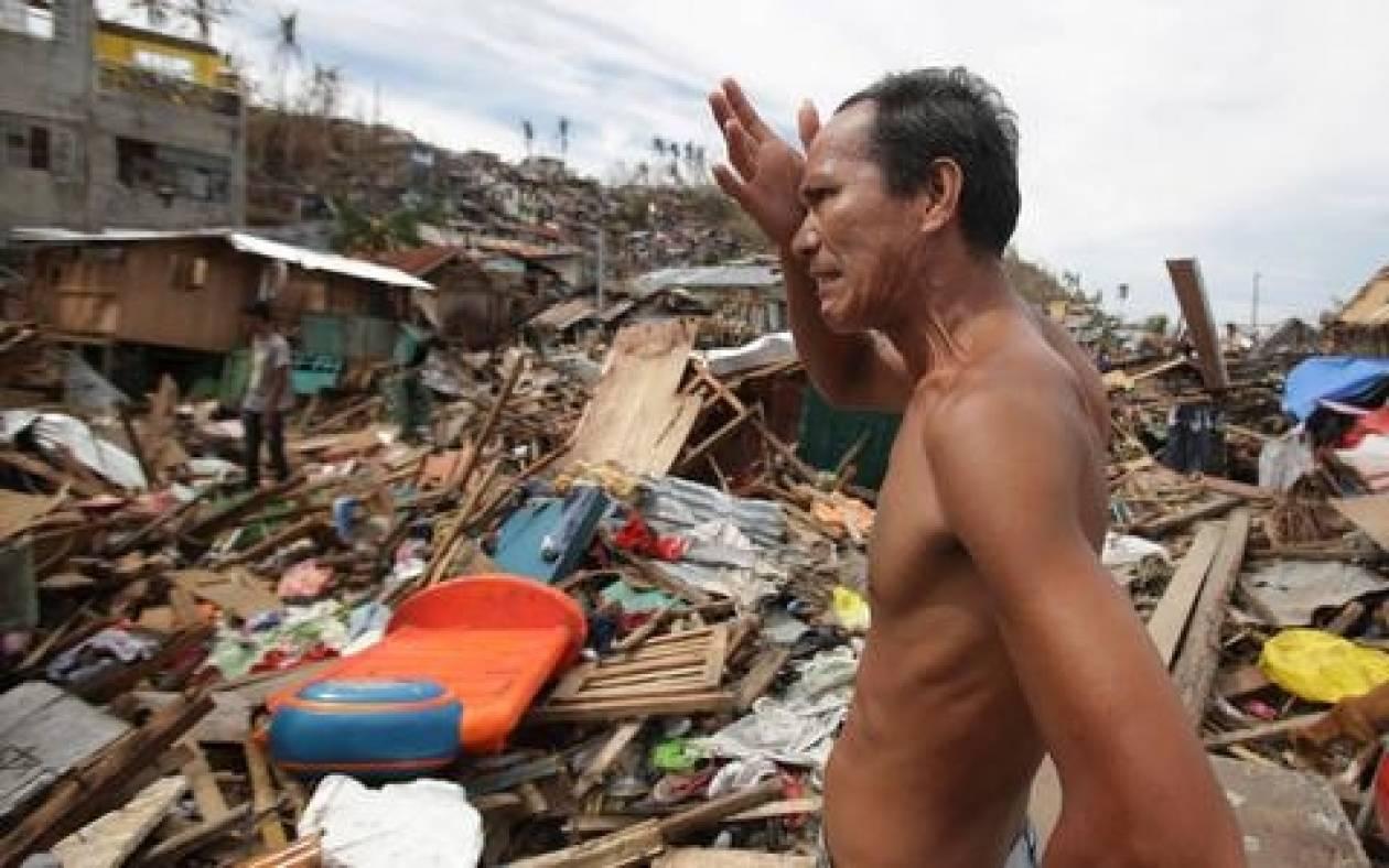 Φιλιππίνες: Στους 5.500 ο αριθμός των νεκρών από τον τυφώνα Χαϊγιάν