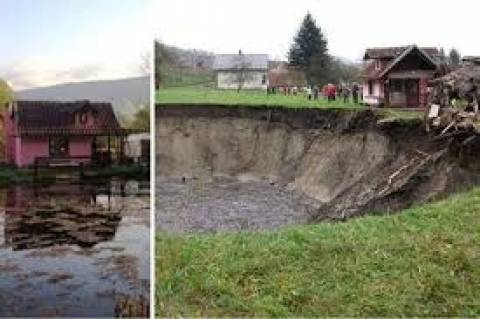 Απίστευτο: Εξαφανίστηκε ολόκληρη λίμνη!