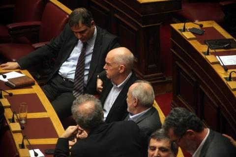 Ο Παπανδρέου ήρθε στην Ελλάδα μόνο για να ψηφίσει για τα φάρμακα