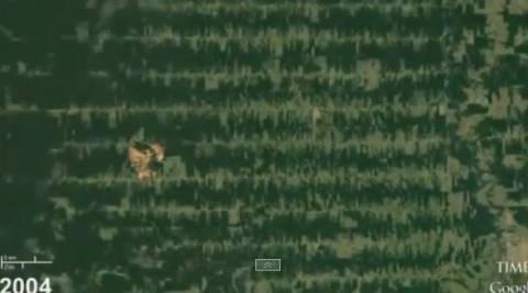 Εκπληκτικό βίντεο από το διάστημα: Οι αλλαγές της Γης σε 28 χρόνια