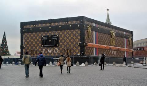 Απομάκρυνση του περιπτέρου της Louis Vuitton από την Κόκκινη πλατεία
