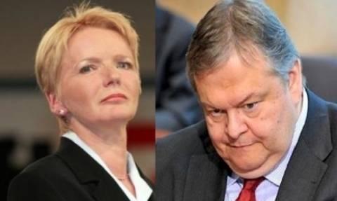 Εξοργισμένη με τον Βενιζέλο η Γερμανίδα Πρόεδρος του GUE