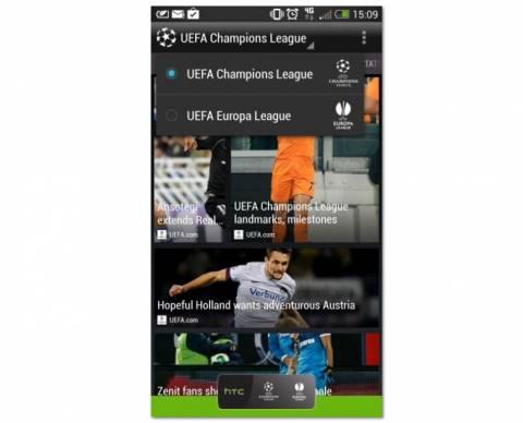 Η HTC λανσάρει τη νέα εφαρμογή Footballfeed