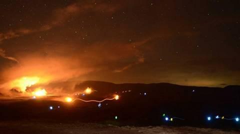 «Αστραπή 2013»: Εντυπωσιακές εικόνες από τη νυχτερινή άσκηση στον Έβρο