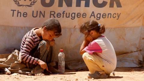 Έκκληση ΟΗΕ για τους πρόσφυγες της Συρίας