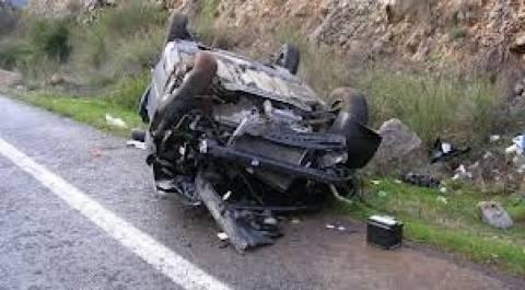 Δύο θανατηφόρα τροχαία στη Θεσσαλία