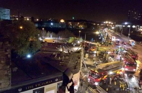 Τρεις νεκροί από τη συντριβή ελικοπτέρου σε παμπ της Γλασκόβης