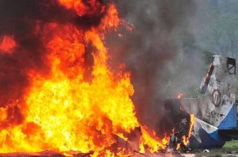 Κανείς δεν επέζησε από την αεροπορικό δυστύχημα στη Ναμίμπια